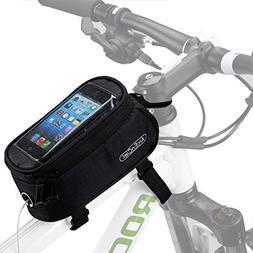8d08f79d8a2 ArcEnCiel Bike Frame Bag Bicycle Top Tube Pouch Waterproof C