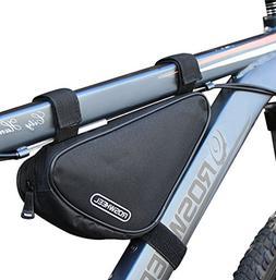 CestMall Waterproof Bike Triangle Bag Bicycle Frame Bag Top