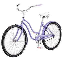 "26"" Wheel Bicycle, Schwinn Women's Talia Cruiser Classic Ste"