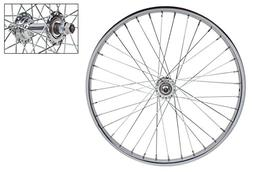 WheelMaster Front Bicycle Wheel 26 x 1 3/8 36H, Steel, Bolt