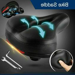 Wide Extra Comfy Bike Bicycle Gel Cruiser Comfort Sporty Sof