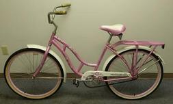 Schwinn Windwood WOMEN'S Pink Beach Cruiser Model S5113KMA