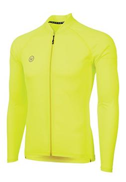Canari Winter Pro Jersey, Killer Yellow, Large