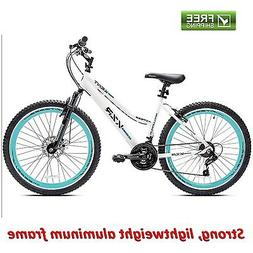 Women Mountain Bike 21 Speed Shimano Disc Brake Suspension 2