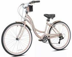 Kent Womens 26 inch Bayside Cruiser Bike Rose Gold