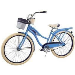 Huffy Women's Cruiser Bike 26-inch Deluxe Blue NEW