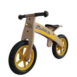 Tour de France Running Balance Kid's Bicycle Wood Grain Colo