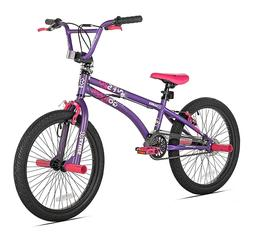 X-Games FS-20 BMX / Freestyle Bicycle, 20-Inch, Purple/Pink