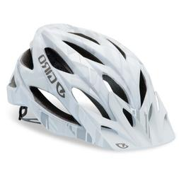 Giro Xar matt white/grey bars  Mountain Bike Helmet