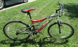 Mongoose XR-75 Mountain Bike 21 Speed Aluminum Alloy Frame D