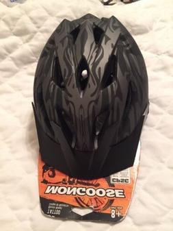 Mongoose Youth Blackcomb Tattoo Hardshell Helmet approx 58cm